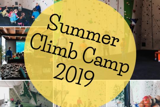 Summer Climb Camp 2019