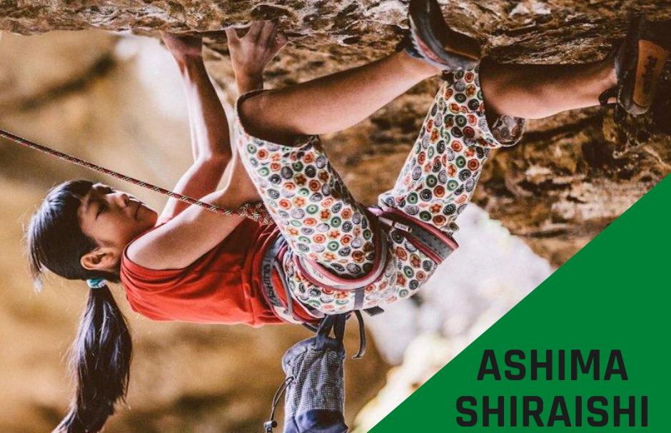 Ashima Shiraishi – wspinanie to nie tylko sami panowie..